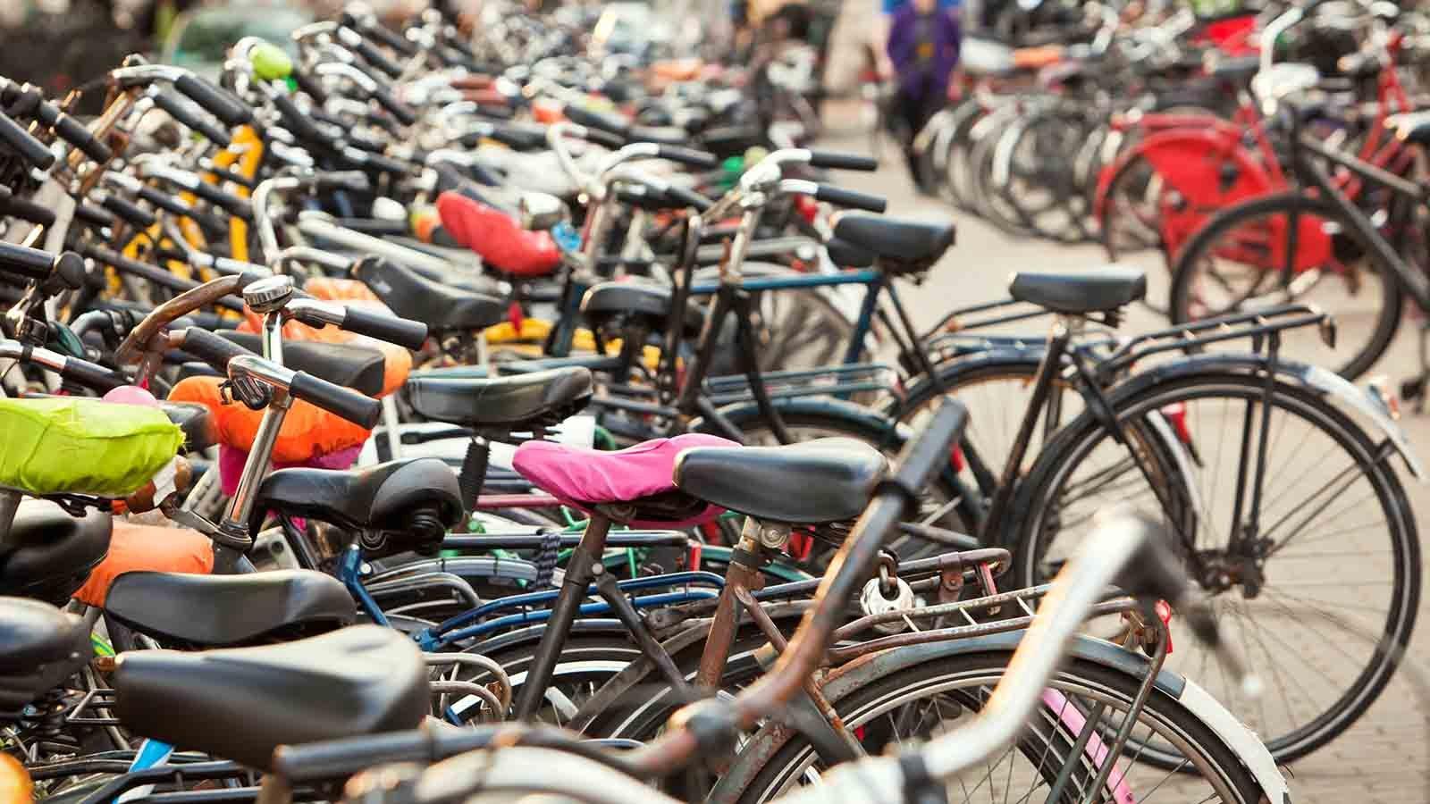 Utrecht_Fahrraeder