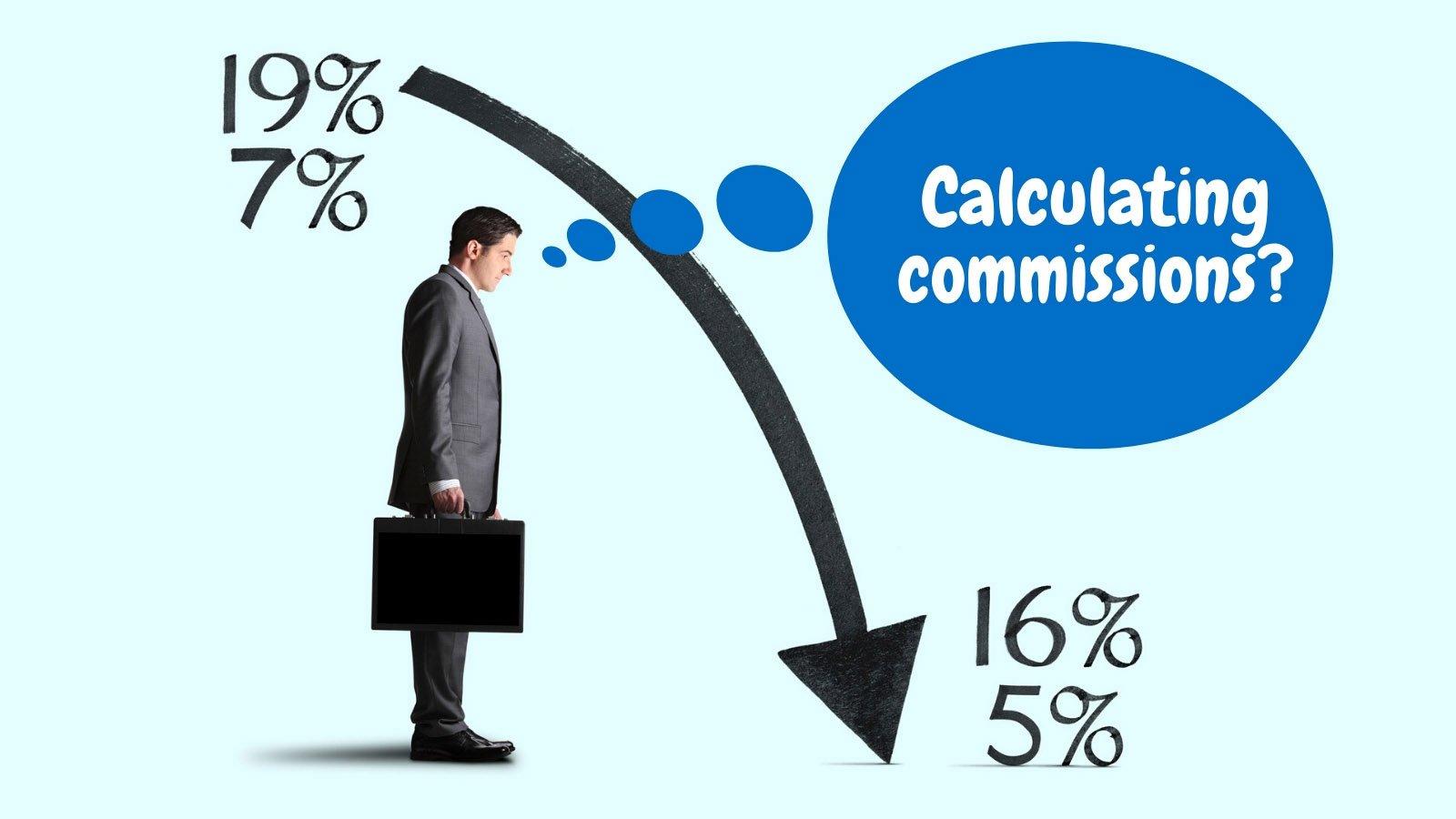 Commission settlement VAT 2020