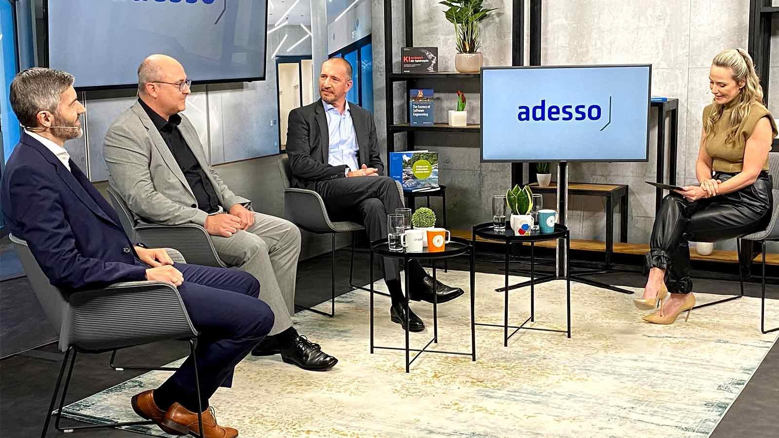 flasHED 2021 Gesprächsrunde mit Oliver von Ameln, Justus Lücke, Christian Hälker