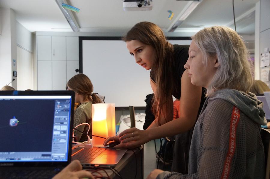 3D-Design-Workshop Jugend hackt